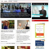 Шаблон блога Болезнь Паркинсона