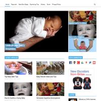 Вордпресс шаблон блога о воспитании детей