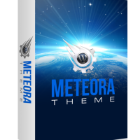Премиум тема для Wordpress Meteora