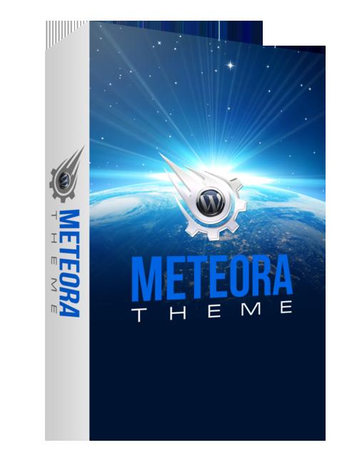 Премиум-тема для WordPress Meteora - бесплатно для членов клуба!