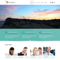 "Премиум тема для Wordpress ""Inventaris"""