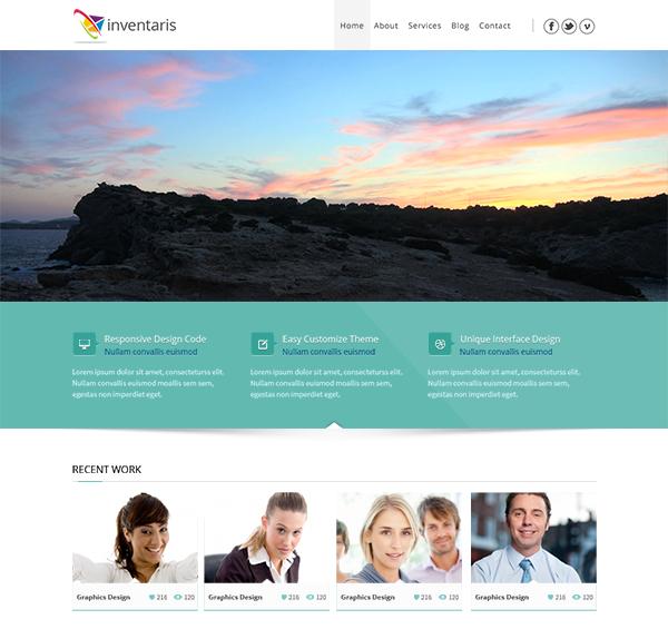 Премиум WordPress-тема Inventaris