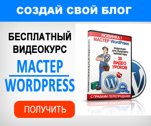 Бесплатный курс по wordpress