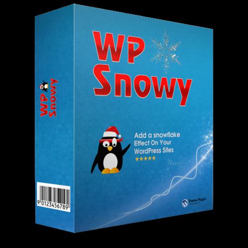 Плагин для создания снега на сайте WordPress