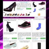 Шаблон магазина женской обуви на Wordpress